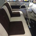 Beautifully restored VW bus interior